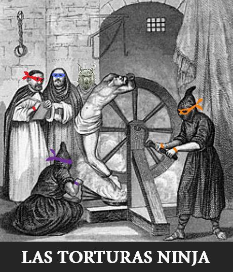 las torturas ninja